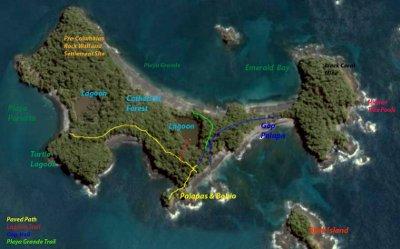Mapa de la Isla Paridita