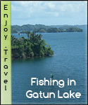 Fissing at Lake Gatun