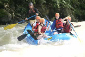 Everybody can enjoy white water rafting in Chiriqui rivers